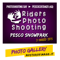 Pesco Snowpark Photoshooting Day Winter 2015